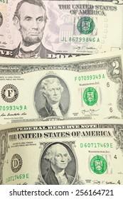 usa dollars background
