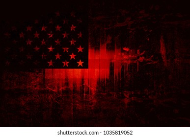 Usa flag abstract stripes background