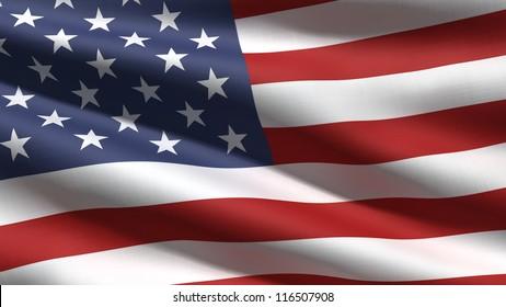 USA-Flaggenhintergrund