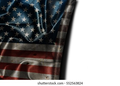Usa flag background with copyspace