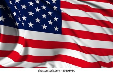 USA flag HI-RES collection