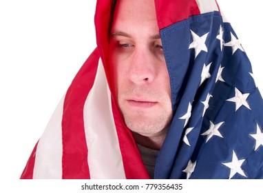 USA Flag Man