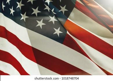 Usa flag. Photo