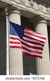 USA flag, Washington DC