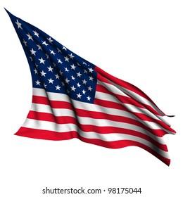 USA flag - World flags - collection no_4
