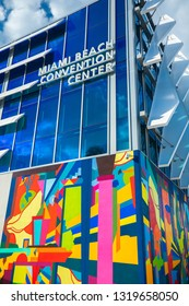 USA. FLORIDA. MIAMI BEACH. FEBRUARY 2019: New Miami Beach Convention Center .