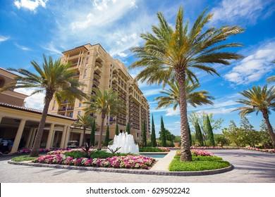 USA. FLORIDA. ORLANDO. APRIL,2017: Four Seasons Resort Orlando at Walt Disney World® Resort.