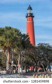 USA, Florida, Ponce Inlet, Ponce de Leon Inlet lighthouse.
