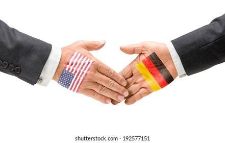 USA and Germany reach out their hands