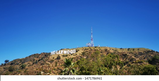 USA, Los Angeles, Hollywood. Hollywood is a neighborhood in the central region of Los Angeles, California
