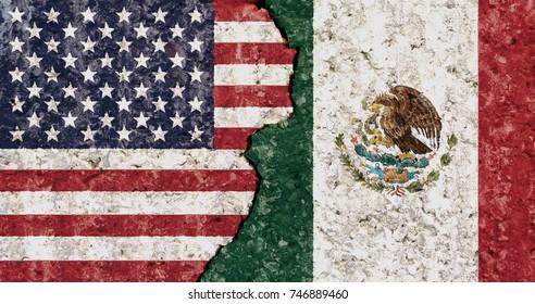 Mexico Vs Usa Images Stock Photos Vectors Shutterstock