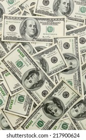 USA money - lots of Lots of hundred dollar banknotes