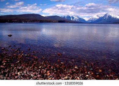 USA, Montana, Glacier National Park, Lake McDonald