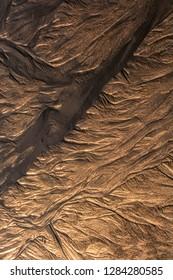 USA, New Jersey, Cape May National Seashore.  Seashore sand patterns. Credit as: Jay O'Brien / Jaynes Gallery / DanitaDelimont.com