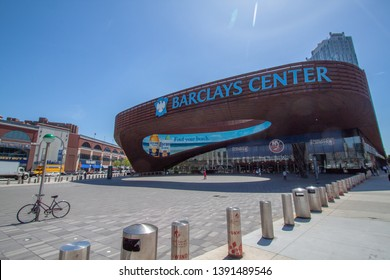 USA, New York 2019: Barclays Center an events arena in Brooklyn, New York