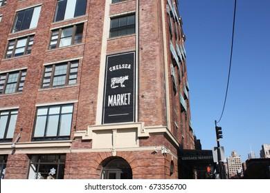 USA, New York, Chelsea Market, November 2016