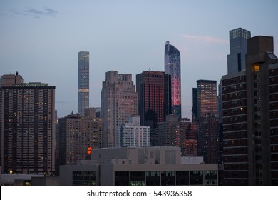 USA, New York City, Manhattan Skyscrapers