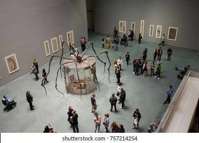 USA. NEW YORK. NOVEMBER 2017: Museum of Modern Art. New exposition.