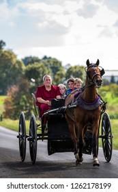 USA - Ohio -  september 2017 - the Amish land