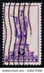 USA postage stamp  circa 1937  3c  -  Hawaii