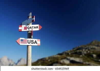 USA and Qatar diplomatic crisis