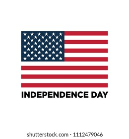 USA sign. Memorial day. 4th of July