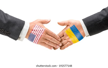 USA and Ukraine reach out their hands
