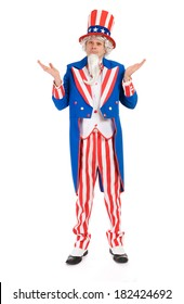 USA: Uncle Sam Unsure Of What To Do and Shrugging