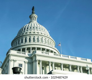 USA, Washington, DC. Capitol building