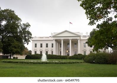 USA, Washington, DC. White House