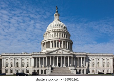USA, WASHINGTON - OCTOBER17: Capitol Building in Washington DC in 2013. East sideview.