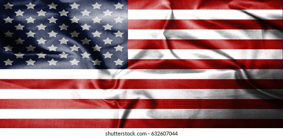USA,America,United flag symbol national country background patriotic textile europe