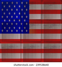 USA,United States flag