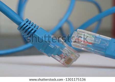 USB Abbreviation Universal Serial Bus Industry Stock Photo