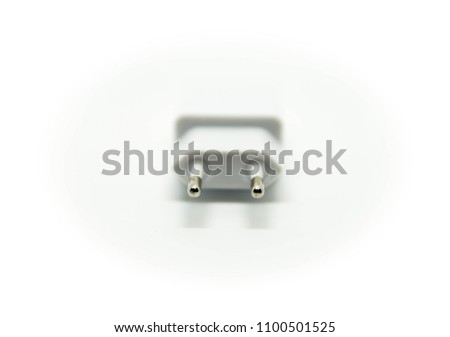 USB adapter white background