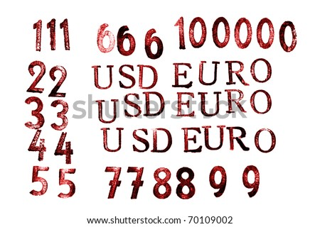USD A EURO And Numerous