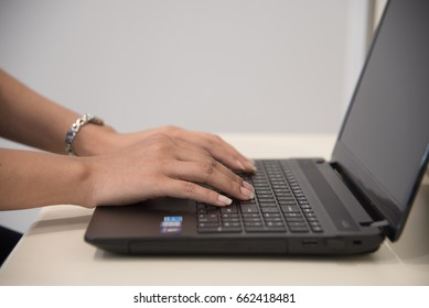 Use computer notebook.