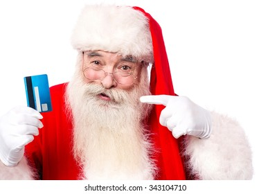 Use credit card to buy christmas gifts