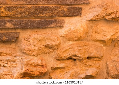The use of different natural stones in architecture