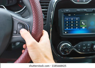 use of hands free in the car for talking on the phone