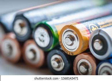 used accumulator battery