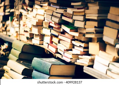 used books at the bookshop