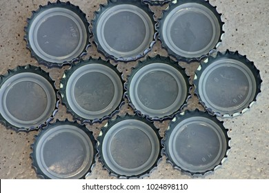 used bottle caps