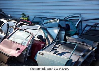 Used Car Doors. Repair parts