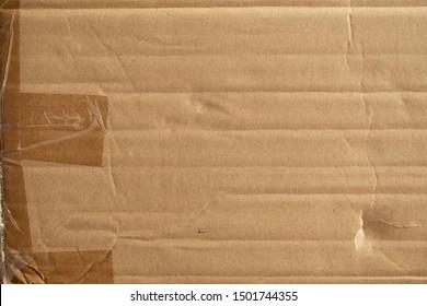 Used cardboard box texture background
