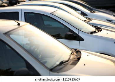 Used Cars In A Row