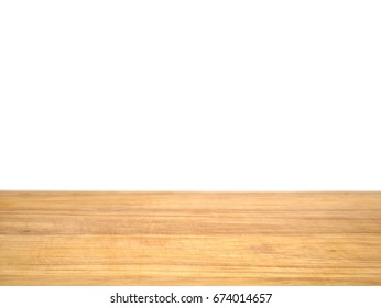 The used chopping board isolated on white background. For product display montage