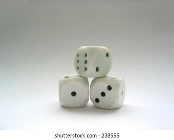 used up dices