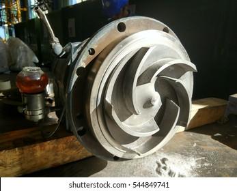 used impeller of centifugal pump