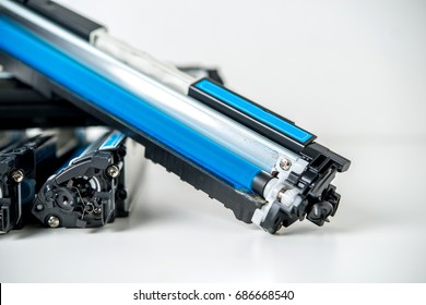 used laser toner cartridge